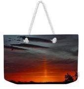 Sun Pillar In The Morning Weekender Tote Bag