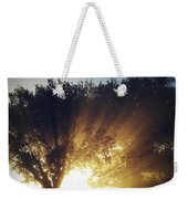 Sun Rays Weekender Tote Bag by Les Cunliffe