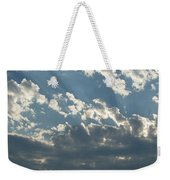 Sun Rays Through The Clouds   # Weekender Tote Bag