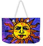 Sun Salutation Weekender Tote Bag