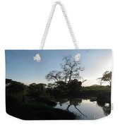 Sun Sets On Africa Weekender Tote Bag
