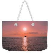 Sun Setting On Atlantus Weekender Tote Bag