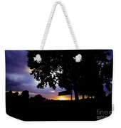 Sign Of The Time Weekender Tote Bag