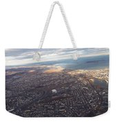 Sun Stained City Weekender Tote Bag