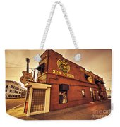 Sun Studios Memphis  Weekender Tote Bag