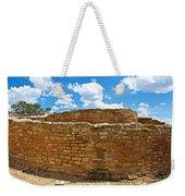 Sun Temple-1250 Ad In Mesa Verde National Park-colorado Weekender Tote Bag