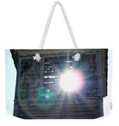Sun Through The Steeple-by Cathy Anderson Weekender Tote Bag