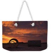 Sun Tunnel Sunset Weekender Tote Bag