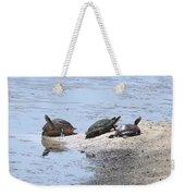 Sun Turtles Weekender Tote Bag