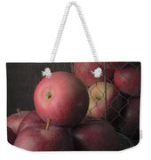 Sun Warmed Apples Still Life Weekender Tote Bag