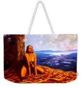 Sun Woman Weekender Tote Bag