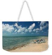 Sunbathers On The Beach Weekender Tote Bag