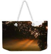 Sunbeams And Fog Weekender Tote Bag