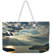 Sunbeams On Dubrovnik Weekender Tote Bag