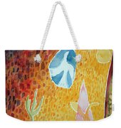 Sunburst, 1989 Wc On Paper Weekender Tote Bag