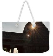 Sunburst At The Temple Of The 64 Yoginis Weekender Tote Bag