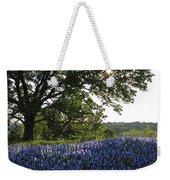 Sunburst Oak And Bluebonnets Weekender Tote Bag