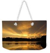 Sunburst Reflection Weekender Tote Bag