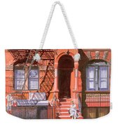 Sunday Afternoon East 7th Street Lower East Side Nyc Weekender Tote Bag