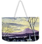 Sunday In Winter Weekender Tote Bag