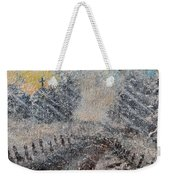 Sunday Morning Blizzard Weekender Tote Bag