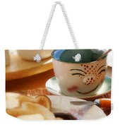 Sunday Morning Jelly Jar Weekender Tote Bag