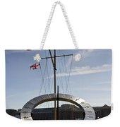 Sundial St Katherines Dock Weekender Tote Bag