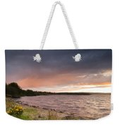 Sundown At Kielder Reservoir Weekender Tote Bag