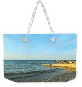 Sundown At Lake Erie  Weekender Tote Bag