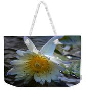 Sundown At Lotus Pond Weekender Tote Bag
