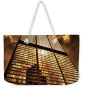 Sundown At Willis Sears Tower Weekender Tote Bag