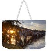 Sundown Bridge Weekender Tote Bag