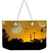 Sundown Fantasy Orange Weekender Tote Bag