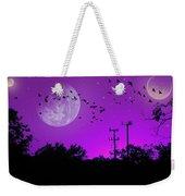 Sundown Fantasy - Violet Weekender Tote Bag