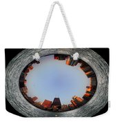 Sundown In The Chicago Canyons Polar View Weekender Tote Bag by Thomas Woolworth