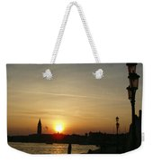 Sundown In Venice Weekender Tote Bag
