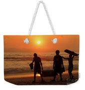 Ocean - Sundown Sunset Weekender Tote Bag