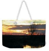 Sundown Lacassine Nwr Weekender Tote Bag