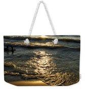 Sundown On The Beach Weekender Tote Bag