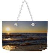 Sundown Scintillate On The Waves Weekender Tote Bag