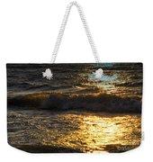Sundown Shimmer On The Waves Weekender Tote Bag