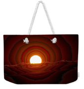 Sunfall Behind The Mountains Weekender Tote Bag