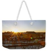Sunflare At The Museum Weekender Tote Bag