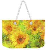 Sunflower 19 Weekender Tote Bag