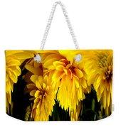 Sunflower Abstract 1 Weekender Tote Bag