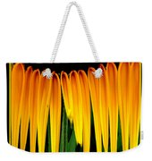 Sunflower Abstract 2 Weekender Tote Bag