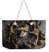 Sunflower Abstract Square Weekender Tote Bag