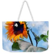 Sunflower Against The Sky Weekender Tote Bag