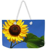 Sunflower Alone Weekender Tote Bag