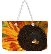 Sunflower And Bee-4041 Weekender Tote Bag